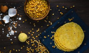 Tortillas de maiz palomero